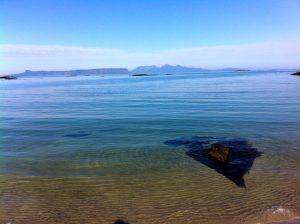 Beach next to Sunnyside